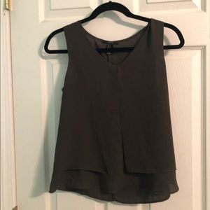 Green blouse tank top (small)